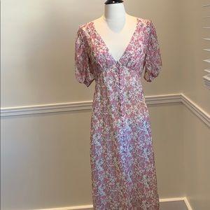 Loveshackfancy XS floral button dress